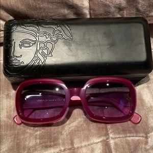 VERSACE Raspberry Sunglasses